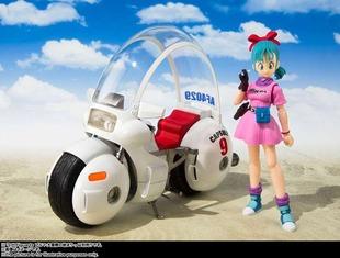 ドラゴンボール第1話に登場したブルマのバイク発売 !鳥山明のメカデザインのセンスは本当すごい!!