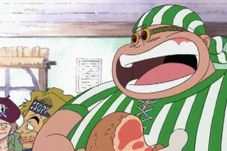 【ワンピース】赤髪海賊団にいる肉食ってる太ってる人って強いん?