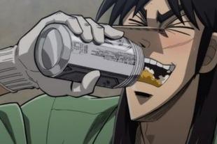 カイジのビールってあれキンキンじゃないよな?