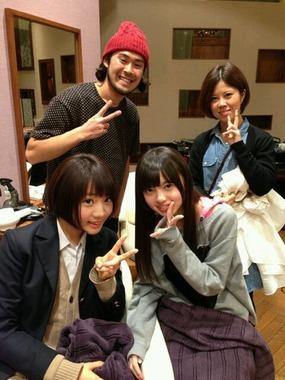 白石、西野、中田、優里は美容室が同じなんだって!