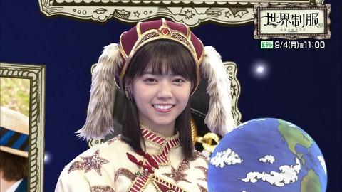 【乃木坂46】西野七瀬のこの衣装、似合ってて可愛い!