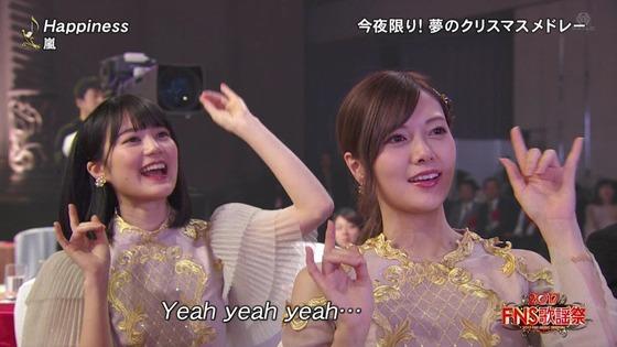 【乃木坂46】FNS歌謡祭でノリノリの生田絵梨花と白石麻衣が可愛すぎるwwwww