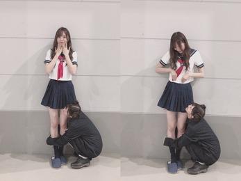 【乃木坂46】エチエチな梅澤美波さん!これマジで見えてるんじゃない?