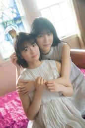 【乃木坂46】清宮レイ・早川聖来、イチャイチャ密着ショット!