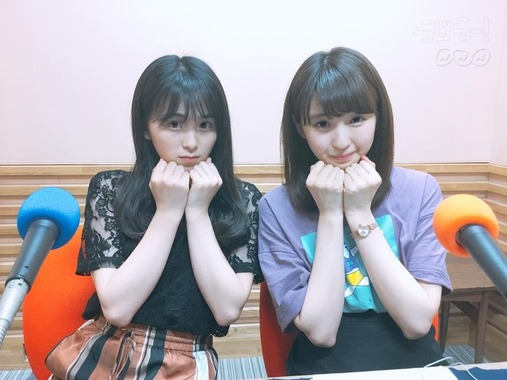 【乃木坂46】ブリブリな井上小百合と大園桃子が可愛すぎる!