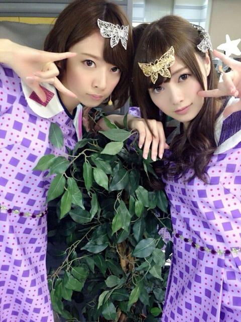 白石麻衣と橋本奈々未って乃木坂の女神二人だよな