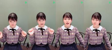【乃木坂46】LINE LIVEの久保ちゃんが超絶可愛かった!!