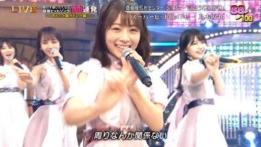 北野日奈子さんのキラキラ感半端ない!これはフロントですわ!!