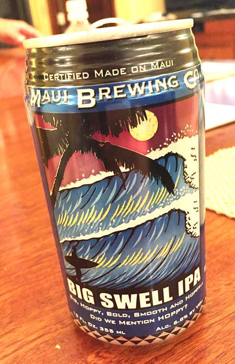 ハワイ ビール ビッグスウェル