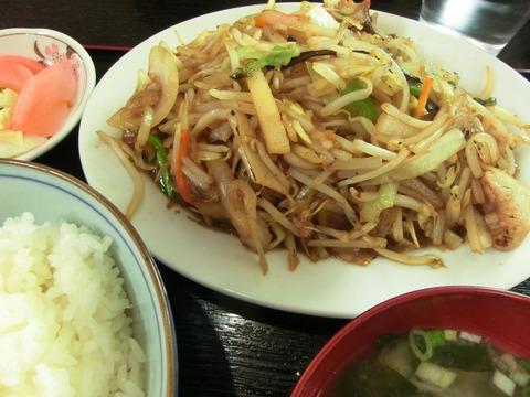 駅前食堂野菜炒め