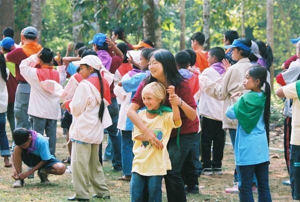 アジア子ども文化祭@カンボジア (アフガニスタンの子どもと)