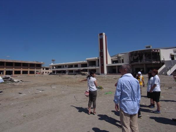 2011年7月17日 陸前高田市立図書館