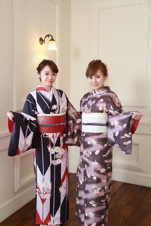 鎌倉散策 レンタル着物