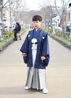 鎌倉 小学生男子 卒業袴 写真11