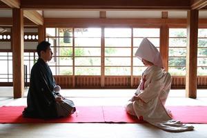 鎌倉円覚寺帰源院結婚式写真