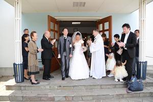 カトリック由比ガ浜教会結婚式9