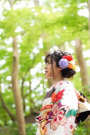 鎌倉宮ご祈祷プラン 成人式振袖 前撮り  ロケーションフォト16