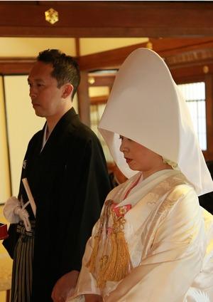 円覚寺結婚式新郎新婦方丈