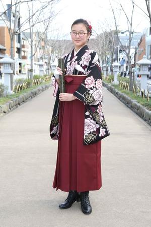鎌倉小学生卒業袴 女児 (18)