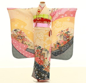 鎌倉七五三 レンタル着物 7歳 1852