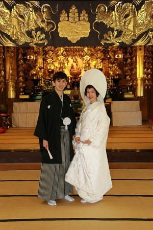 鎌倉光明寺フォトウェディング2