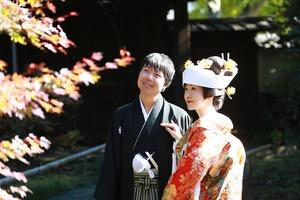 鎌倉英勝寺婚礼前撮り写真