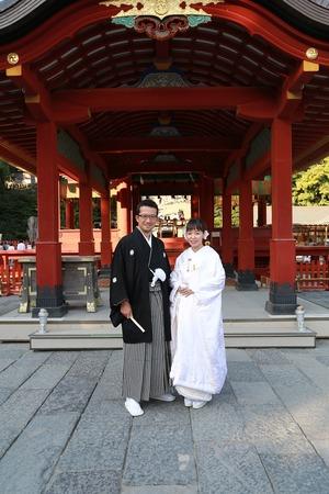 鶴岡八幡宮結婚式5