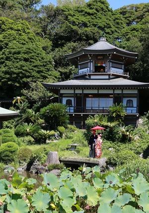 光明寺庭園フォトウェデイング