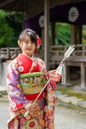 鎌倉宮成人式ご祈祷 振袖前撮り ロケーションフォト9