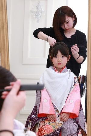 鎌倉七五三 7歳ヘア 7歳メイク 七五三フェア
