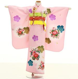 鎌倉七五三 レンタル着物 7歳 1345