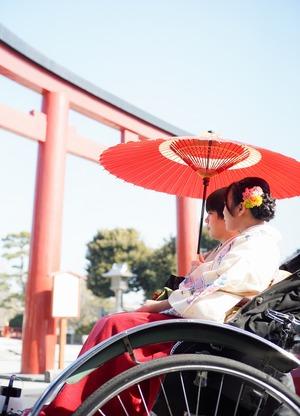 鎌倉散策 着物 カップル 記念日 写真2