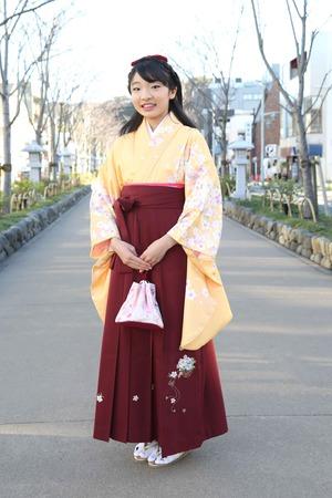 鎌倉小学生卒業袴 女児 (3)