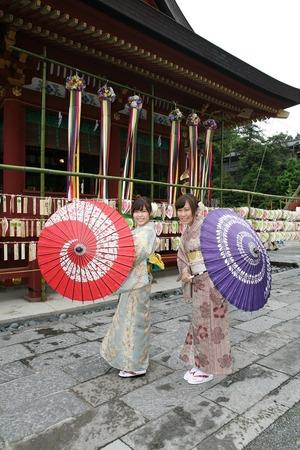 鎌倉レンタル着物3