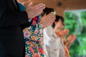 成人式 振袖 前撮り 神社 ロケーションフォト3