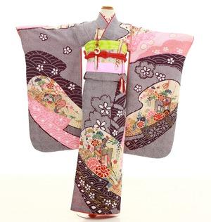 鎌倉七五三 レンタル着物 7歳 1837