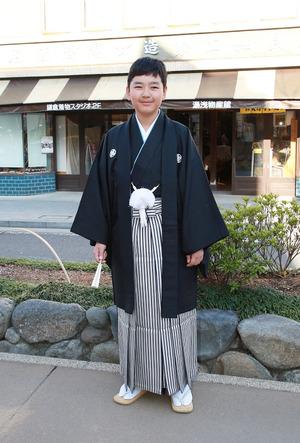鎌倉小学生卒業袴 男児レンタル