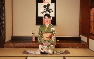 鎌倉成人式振袖和室スタジオ写真
