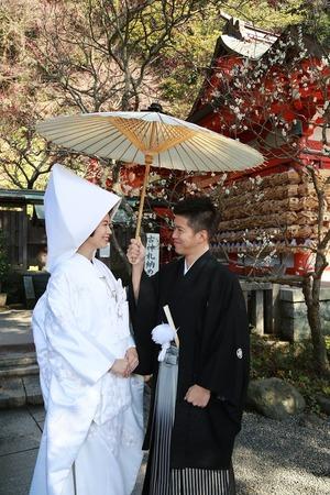 荏柄天神社結婚式写真