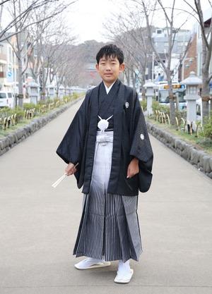 鎌倉 小学生男子 卒業袴 写真6
