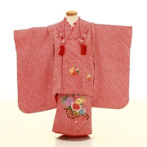 鎌倉七五三 レンタル着物 3歳 1711