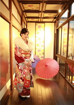 鎌倉振袖スタジオ写真 振袖レンタル 鎌倉成人式