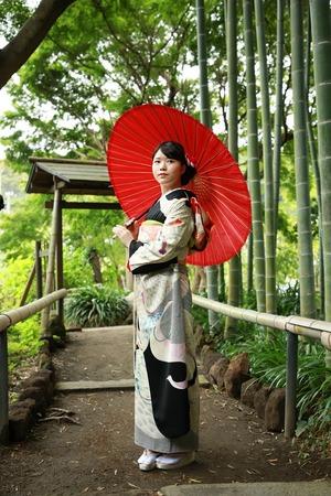 鎌倉逗子葉山成人前撮り屋外庭園
