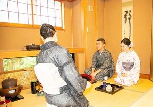 鎌倉 レンタル着物 記念日 写真 夫婦 3