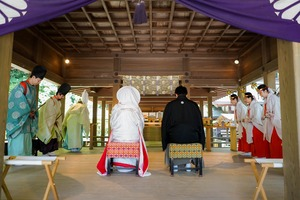 鎌倉宮結婚式8