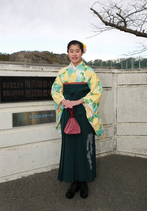 鎌倉小学生卒業袴出張写真