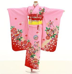 鎌倉七五三 レンタル着物 7歳 1844
