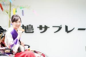 成人式 ママ振袖 前撮り 人力車 ロケーションフォト  鎌倉 8