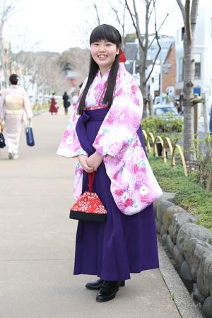 鎌倉小学生卒業袴 女児 (20)
