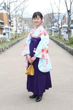 鎌倉小学生卒業袴 女児 (17)